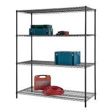 Shelving Home Depot by Decorating Edsal Shelving Metal Shelves Home Depot Costco