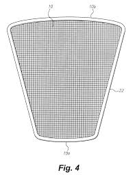 patent us6698035 urinal anti splashback screen google patents