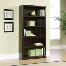Sauder White Bookcase by Sauder 5 Shelf Bookcase Cherry Bobsrugby Com