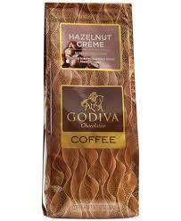 godiva coffee 10oz hazelnut creme flavored coffee gourmet food