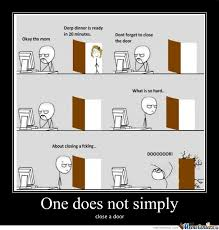 Door Meme - rmx close a door by bloodyx meme center