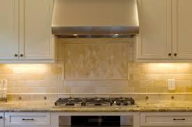 traditional kitchen backsplash travertine backsplash in kitchen traditional with diamond pattern 9
