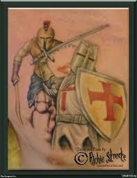 knight crusader spartan tattoo tattoo artists org