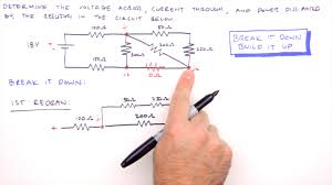 how to solve any series and parallel circuit problem youtube