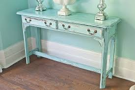 Distressed Sofa Table by Distressed Costa Home