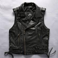 Cowhide Leather Vest Popular Motorcycle Leather Vest Buy Cheap Motorcycle Leather Vest
