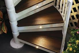trex spiral stairs custom home magazine products outdoor