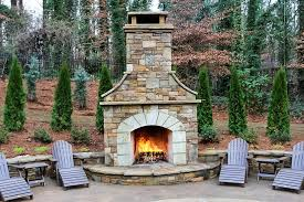 Outdoor Fireplace Patio Outdoor Fireplaces And Firepits Artistic Landscapes