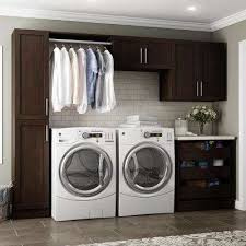 Cabinets For Laundry Room Brown Laundry Room Cabinets Laundry Room Storage The Home Depot