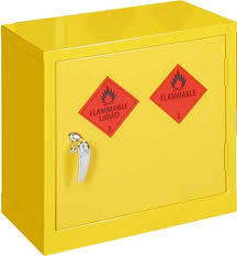 flammable cabinet storage guidelines bright yellow mini storage cabinets for flammable liquids safetyshop