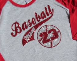 baseball mom shirts etsy