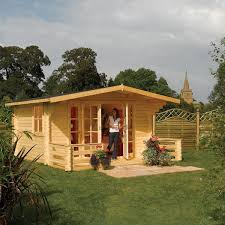 Gardens With Summer Houses - buy cabins u0026 summerhouses delivery by waitrose garden in