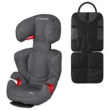 siege auto rodi air protect maxi cosi rodi air protect in sparkling grey and back seat protector