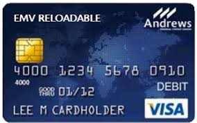 reloadable credit card emv reloadable prepaid card federal credit union
