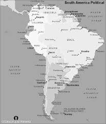 america map free south america political map black and white black and white