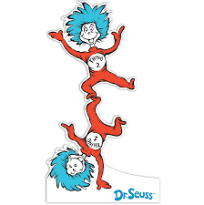 dr seuss coloring books dr seuss thing 1 clip art home u003e dr seuss thing 1 and thing 2