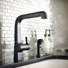 kohler black kitchen faucets 61 best b l a c k f a u c e t images on bathroom