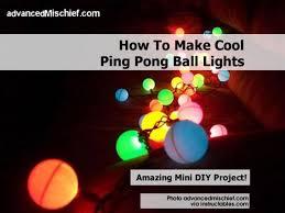 how to make ping pong ball lights ping pong christmas lights