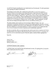 Offer Letter Exle offer letter contingent sle customer service resume slip