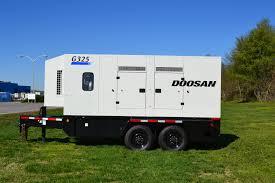doosan debuting new brand tier 4i mobile generators equipment