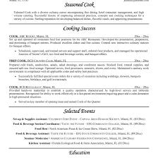 sle chef resume prep cook resume skills exles therpgmovie