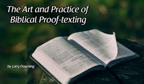 the art and practice of biblical proof texting adventist today
