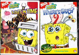 spongebob squarepants dvd lot where u0027s gary lost in time both