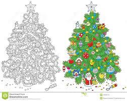 christmas tree stock photos image 33933773