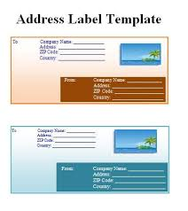 label templates free word templates