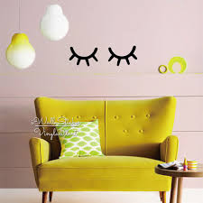 popular easy wall decal buy cheap easy wall decal lots from china baby nursery eyelash wall sticker girls room vinyl wall decal children kids wall decor easy wall