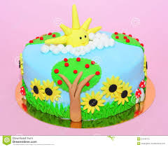 summer time cake stock photo image 51844731