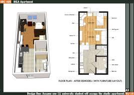 am apartment studio archdaily floor plan arafen