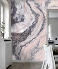 Pink Grey Marble YOUR DECAL SHOP NZ Designer Wall Art Decals - Wall art designer