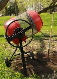 diy compost sifter potting soil mixer youtube worm casting