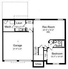 split foyer floor plans house plans with bi level split foyer by studer residential