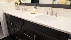 Amazing Ideas For Bathroom Countertops Gallery Home Decorating - Quartz bathroom countertops with sinks