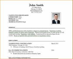 14 cv sample for job application basic job appication letter