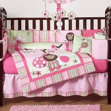 adorable pink and brown baby bedding coolest home decor ideas