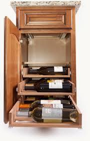 in cabinet wine racks by wine logic u003e u003e kitchen storage solutions