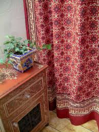 Cloth Shower Curtains Luxury Shower Curtains Red Shower Curtains Kilim Shower Curtains