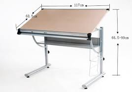 Drafting Table Dimensions Drawing Desk Diy Priory Deluxe Board Size Of Living Photo
