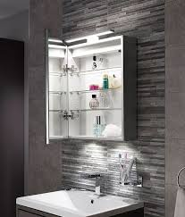 classy design mirror bathroom cabinets with lights mirrored