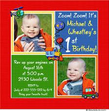 birthday card baby boy u0027s party two photos motor vehicles
