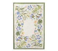 Qvc Area Rugs Claire Murray Fairy Petal Scalloped Braided Rug Claire Murray