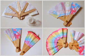 how to make a fan make a folding popsicle stick fan pink stripey socks how to make a