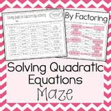 quadratic equations by amazing mathematics teachers pay teachers