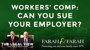 Workers Compensation Light Duty Policy Florida Workers U0027 Compensation Can You Sue Your Employer Youtube
