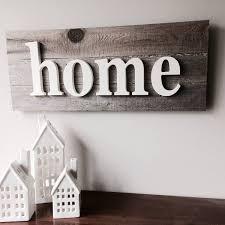 home sign farmhouse decor wooden letters fixer upper cape