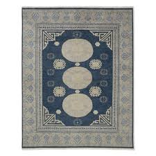 William Sonoma Kitchen Rugs Rotunda Hand Knotted Rug Blue Williams Sonoma