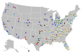 Bgsu Campus Map Made A Map Of All Fbs Teams Need Help Creating An Interactive
